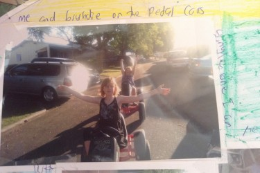 Summer - On the pedal cars