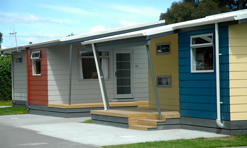 Napier self contained holiday units kennedy park resort for Self contained cabin